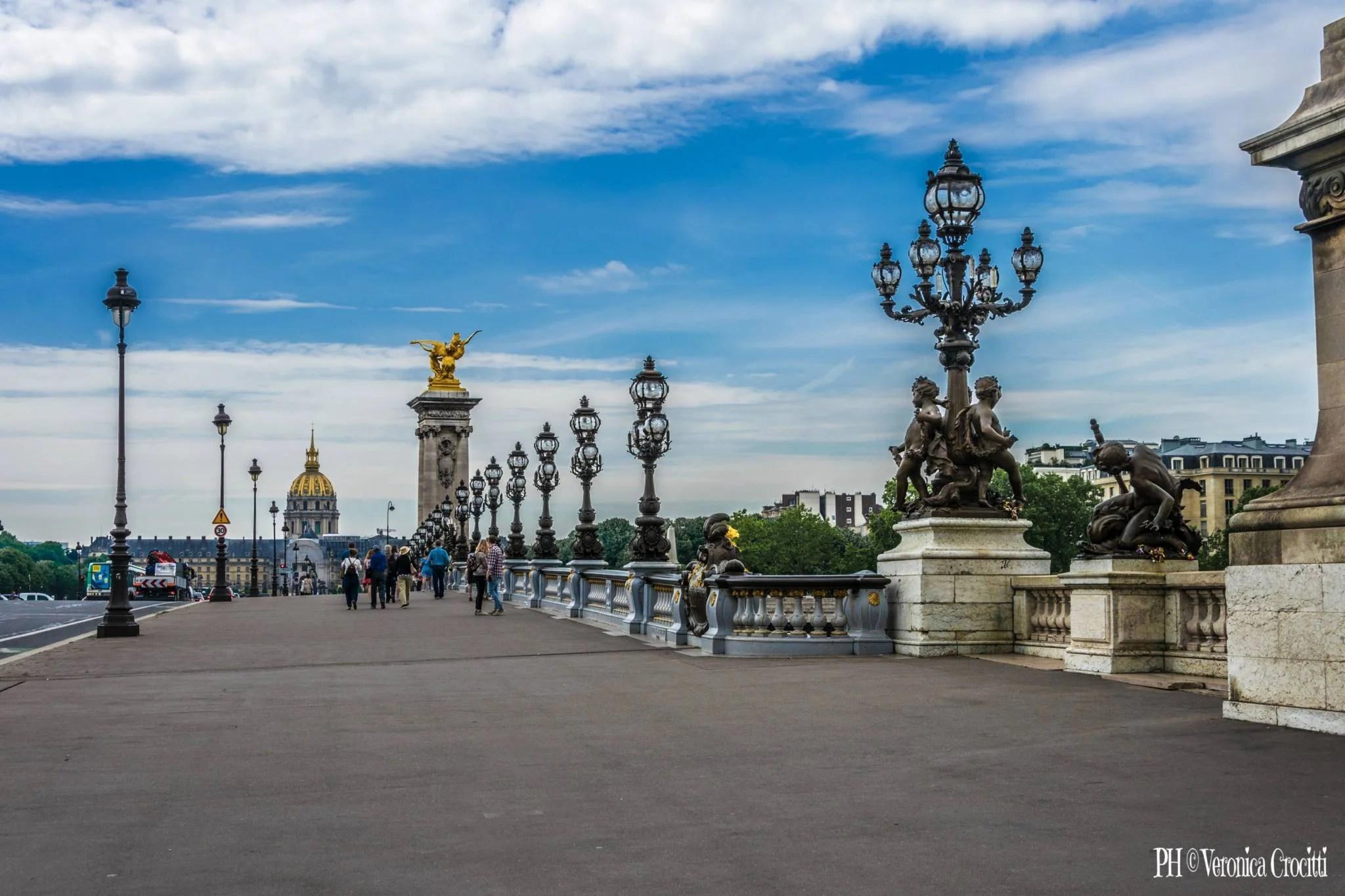 Ponte Alessandro III (Pont Alexandre III) - Parigi, Francia