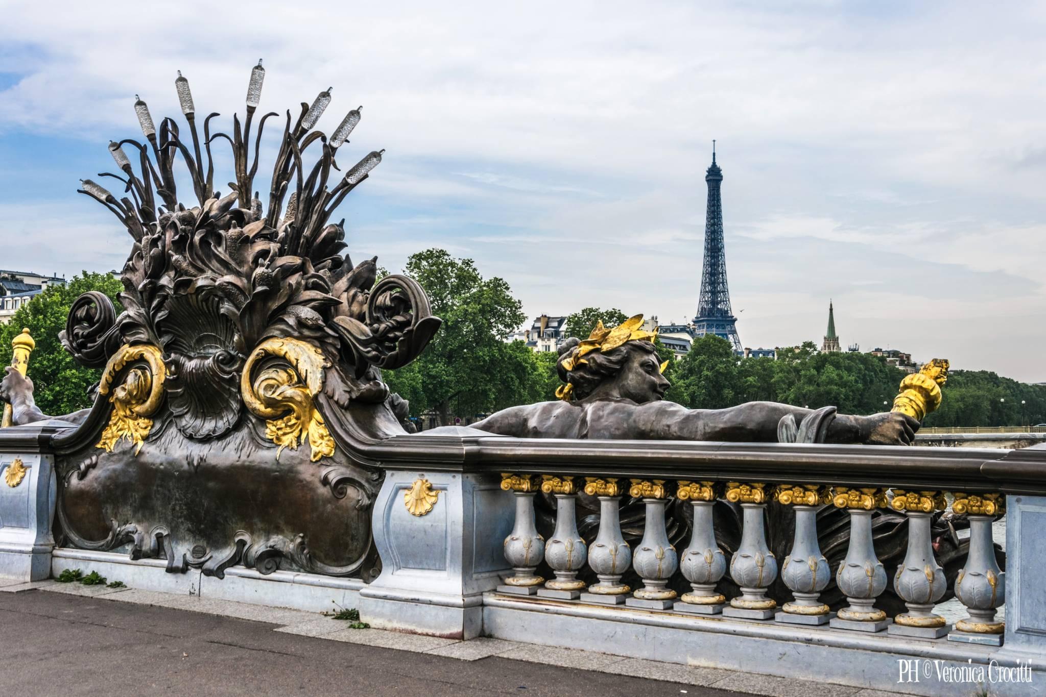Ponte Alessandro III (Pont Alexandre III) - Parigi, Francia_2