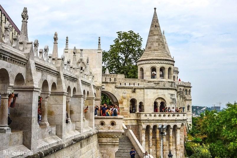 Bastione dei Pescatori - Budapest, Ungheria (Europa)