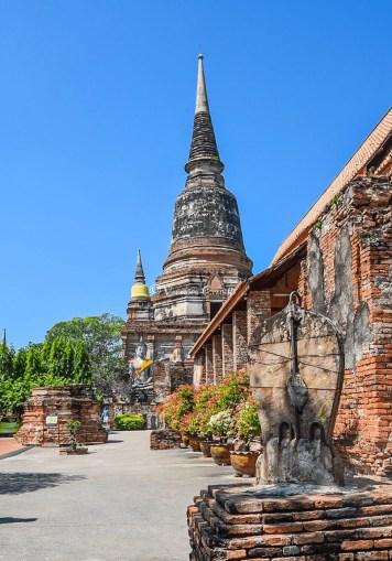 Wat Ya Chai Mongkhon - Ayutthaya, Thailandia