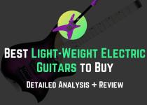 best light-weight electric gutars