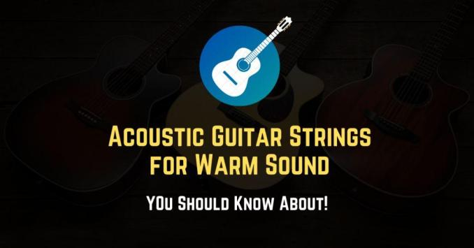 best acoustic guitar strings for warm sound