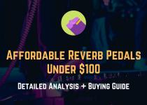 Best reverb pedal under 100 dollars