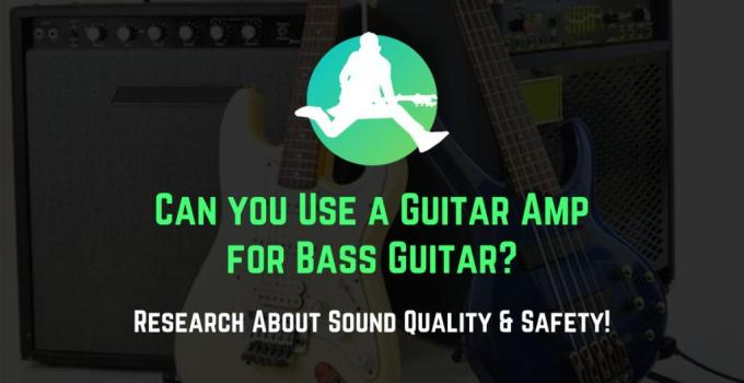 playing bass through guitar amp