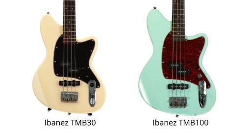 Ibanez TMB30 vs tmb100 1