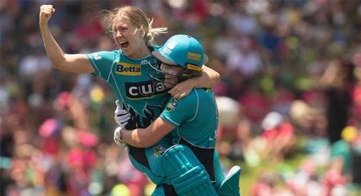 Brisbane Heat win women's Big Bash League decider - ScoreLine