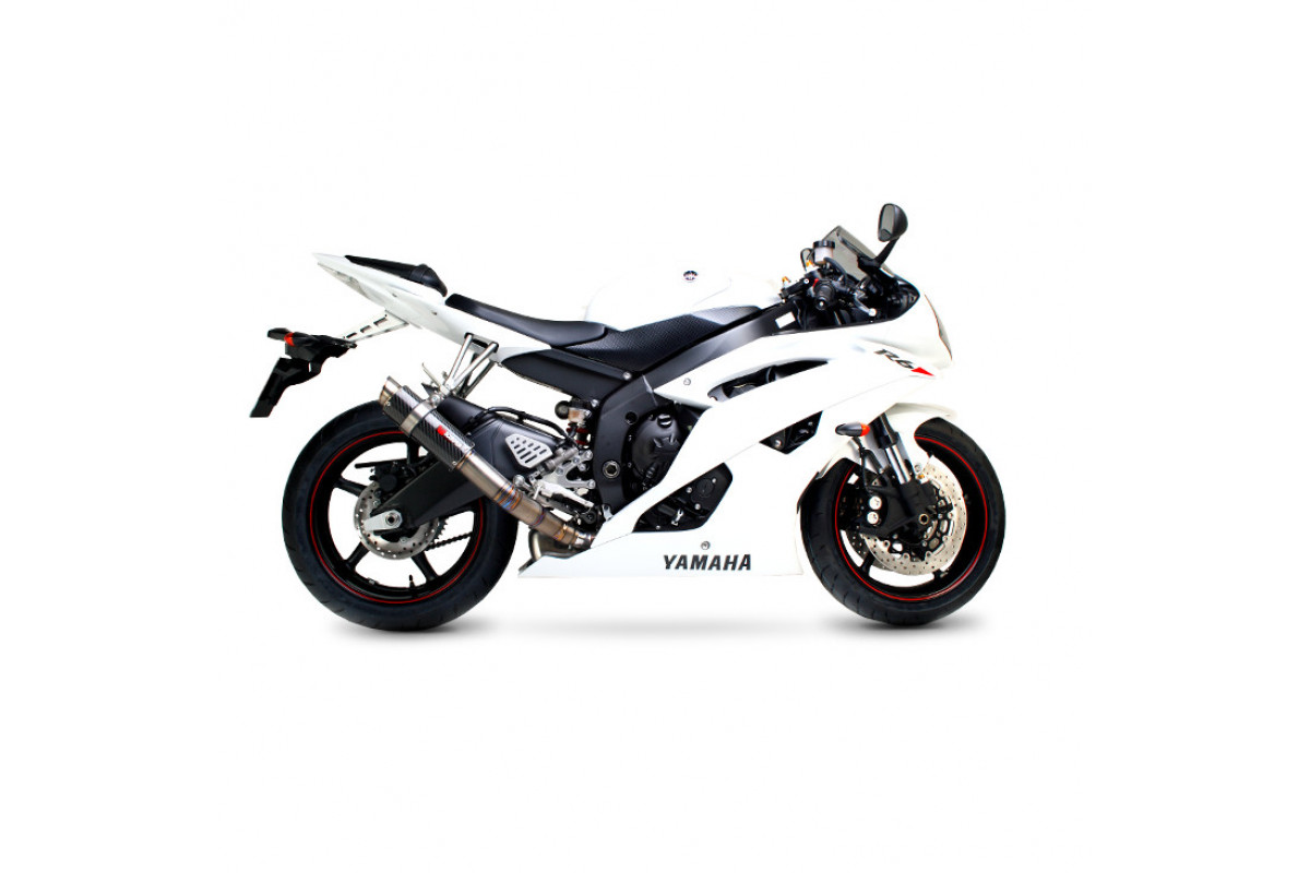 Yamaha Yzf R6 06 Current Exhausts