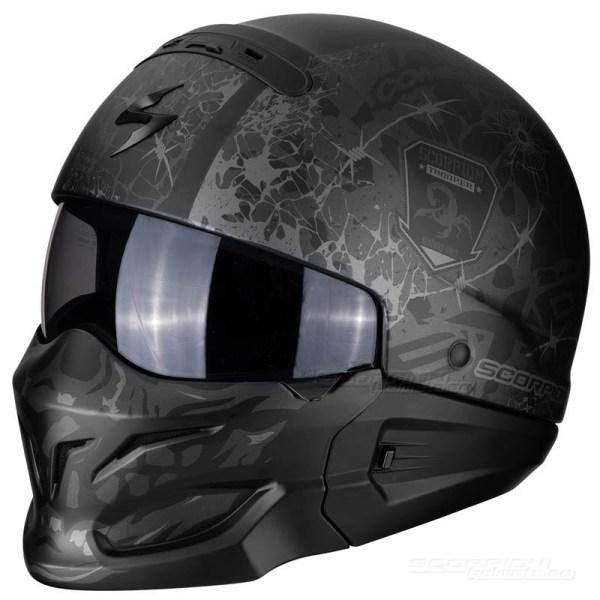 Scorpion Exo-combat Stealth - Scorpionhelmets.se
