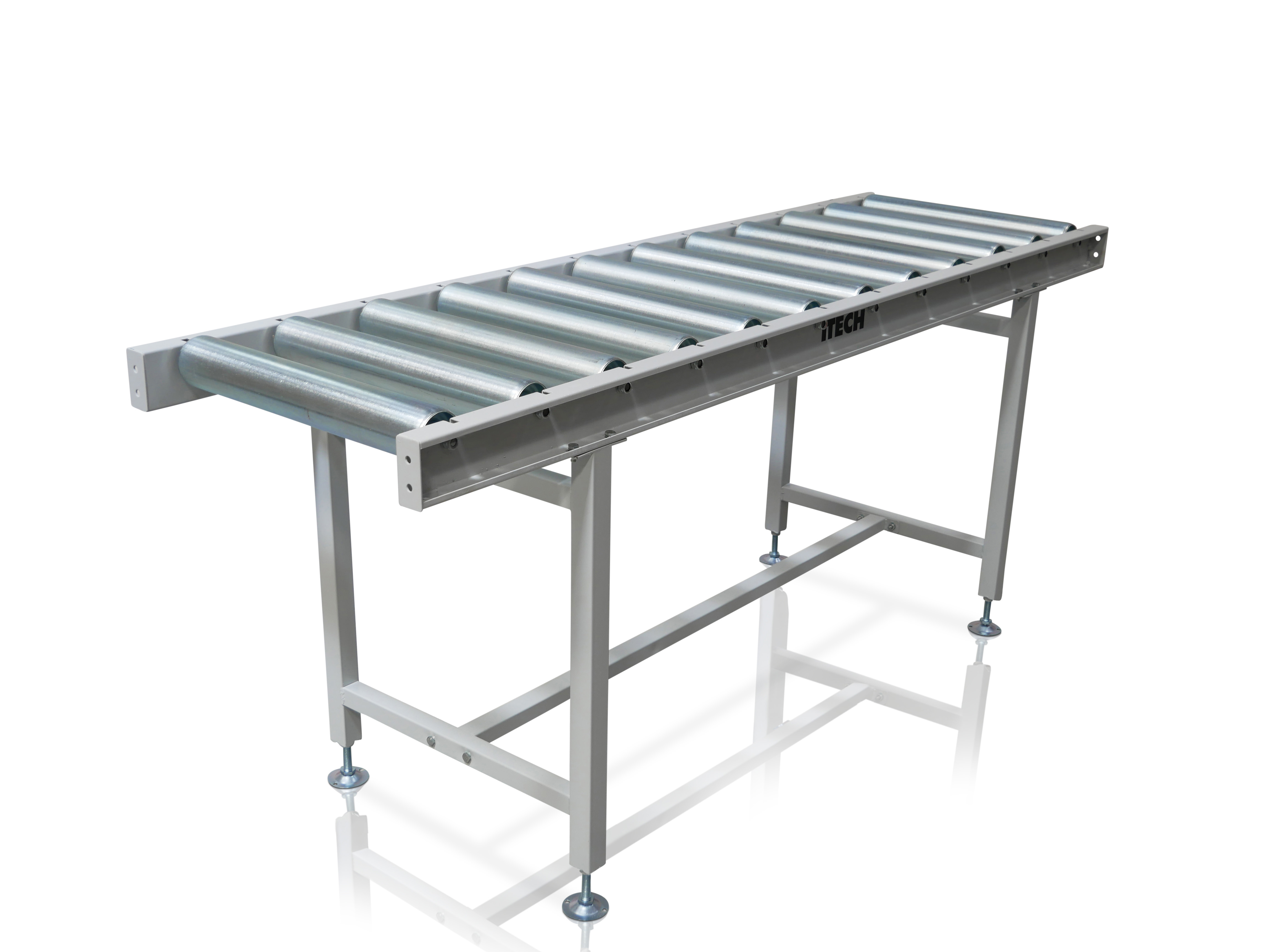 HD Roller Conveyor Table with NO Legs L = 200 cm
