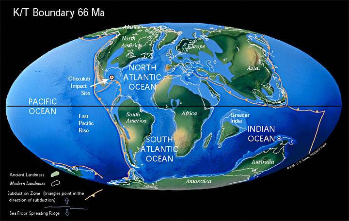 Výsledek obrázku pro cretaceous map scotese