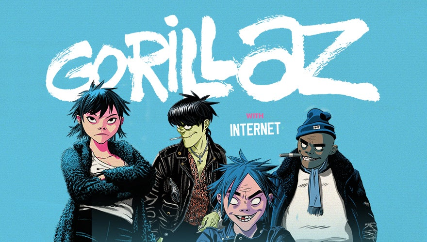 This print is in good condition with some wear to the. Gorillaz Scotiabank Arena