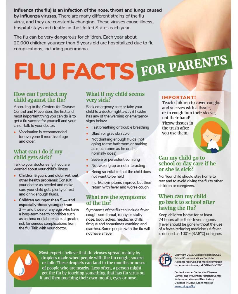 Information about seasonal flu - Scotia-Glenville Central School ...