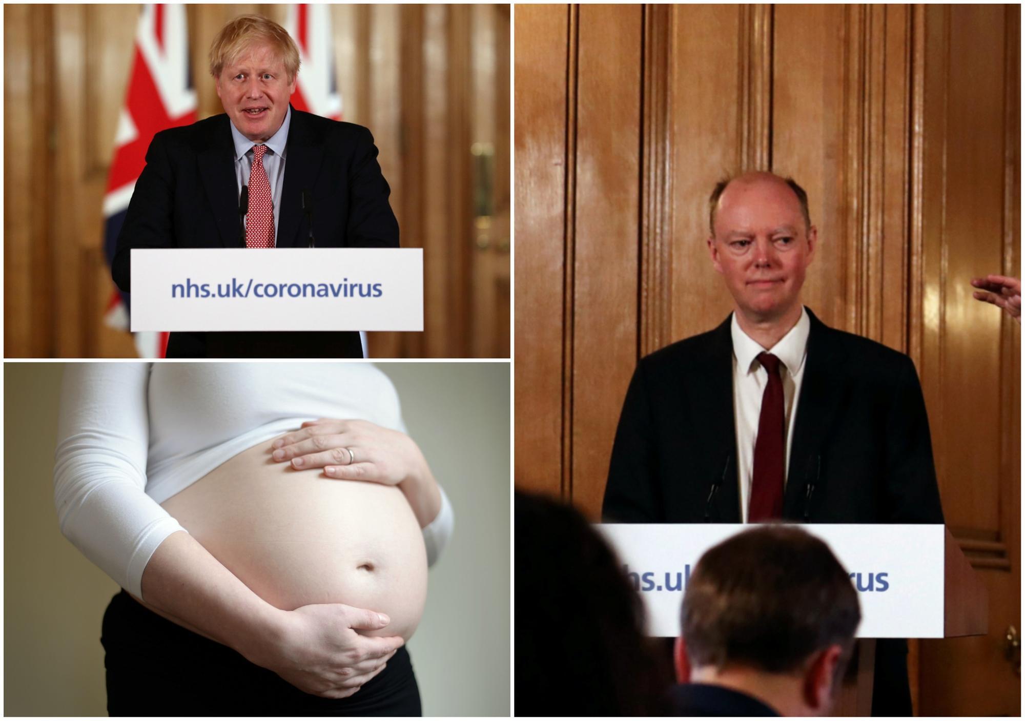 Coronavirus: Pregnant women must minimise social contact, says ...