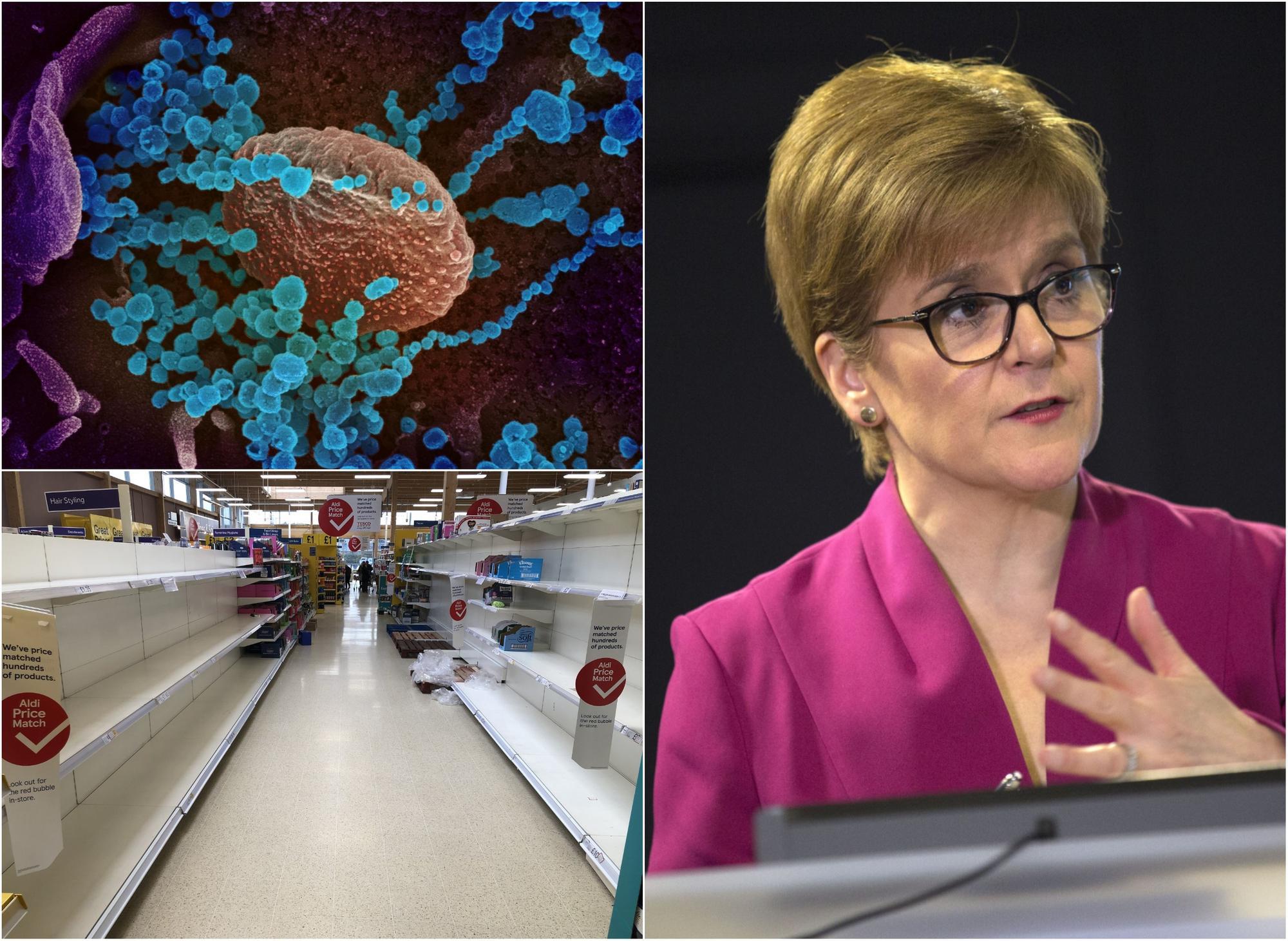 Coronavirus in Scotland LIVE: Schools in Scotland to close at the ...