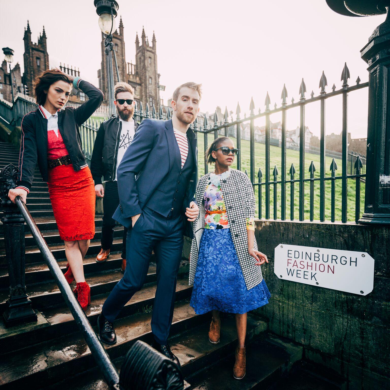 Edinburgh Fashion Week - Dom Martin