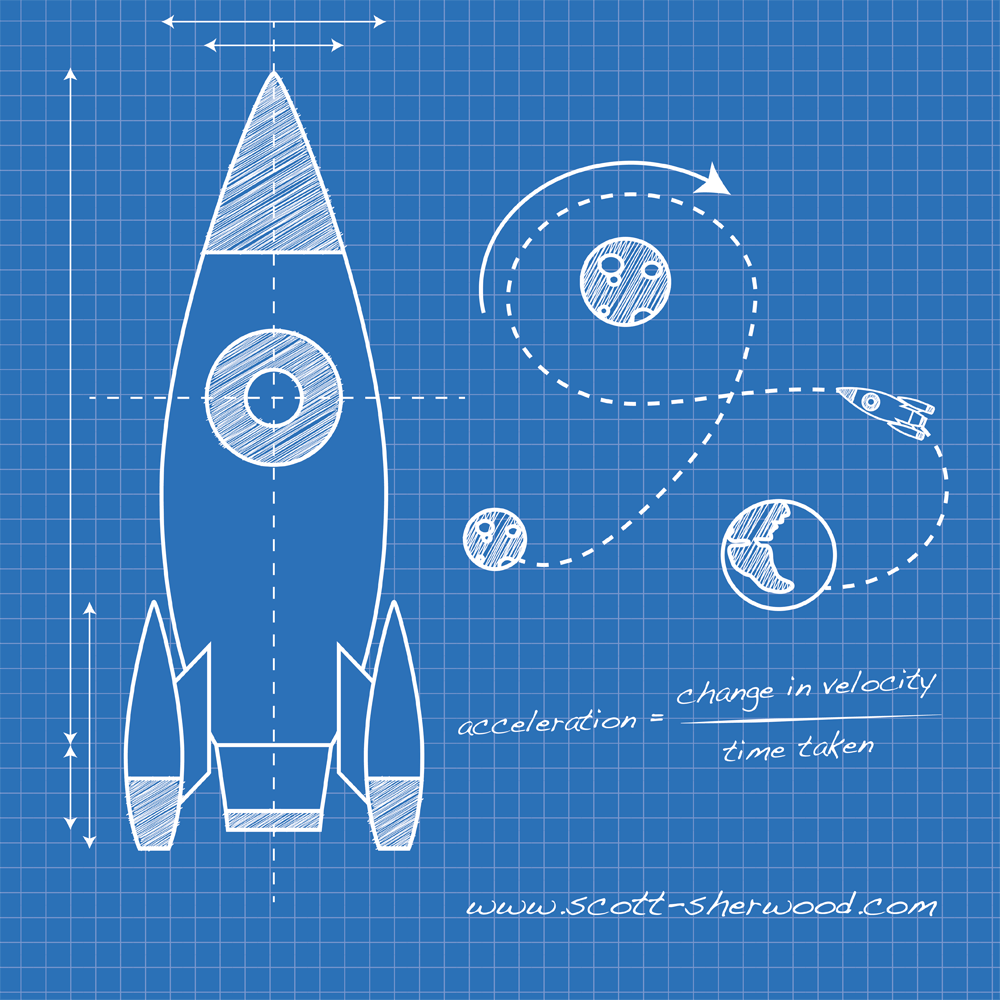 Illustrator How To Create A Blueprint Style Illustration