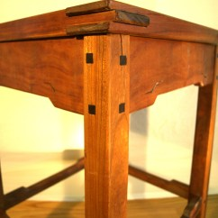 Tall Kitchen Garbage Can Breakfast Bar Southwest Style - Scotts Woodworking Shop