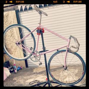 She will ride again! Yes she will fixie fixedgear trackbikehellip