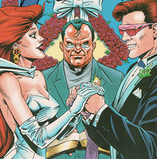 Image result for cyclops and jean grey wedding comic