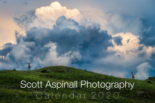 2020 Calendar of Western Canada landscape photography