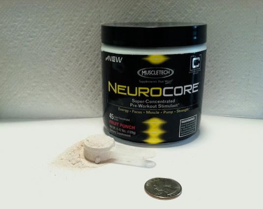 MuscleTech NeuroCore: A Hardcore Pre-workout Supplement