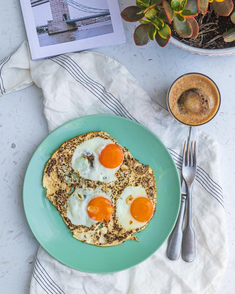 Cacio e Pepe Eggs