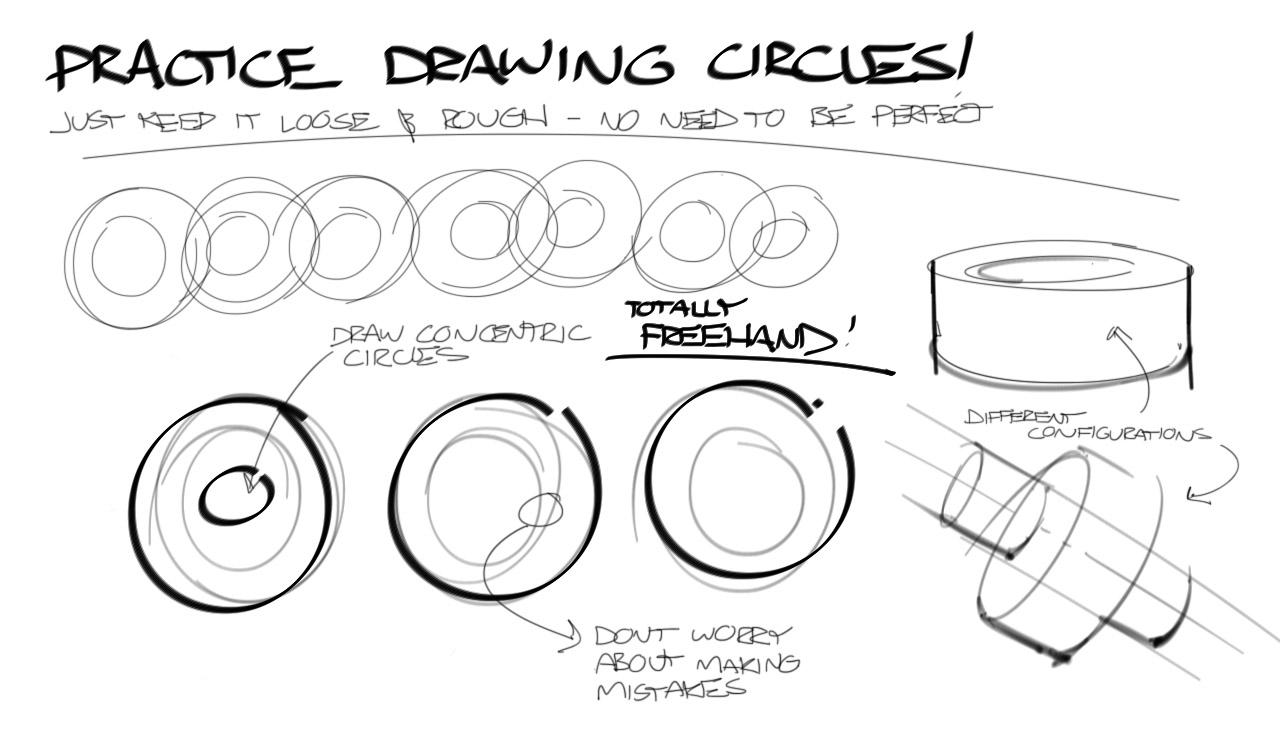 Practice Drawing Circles