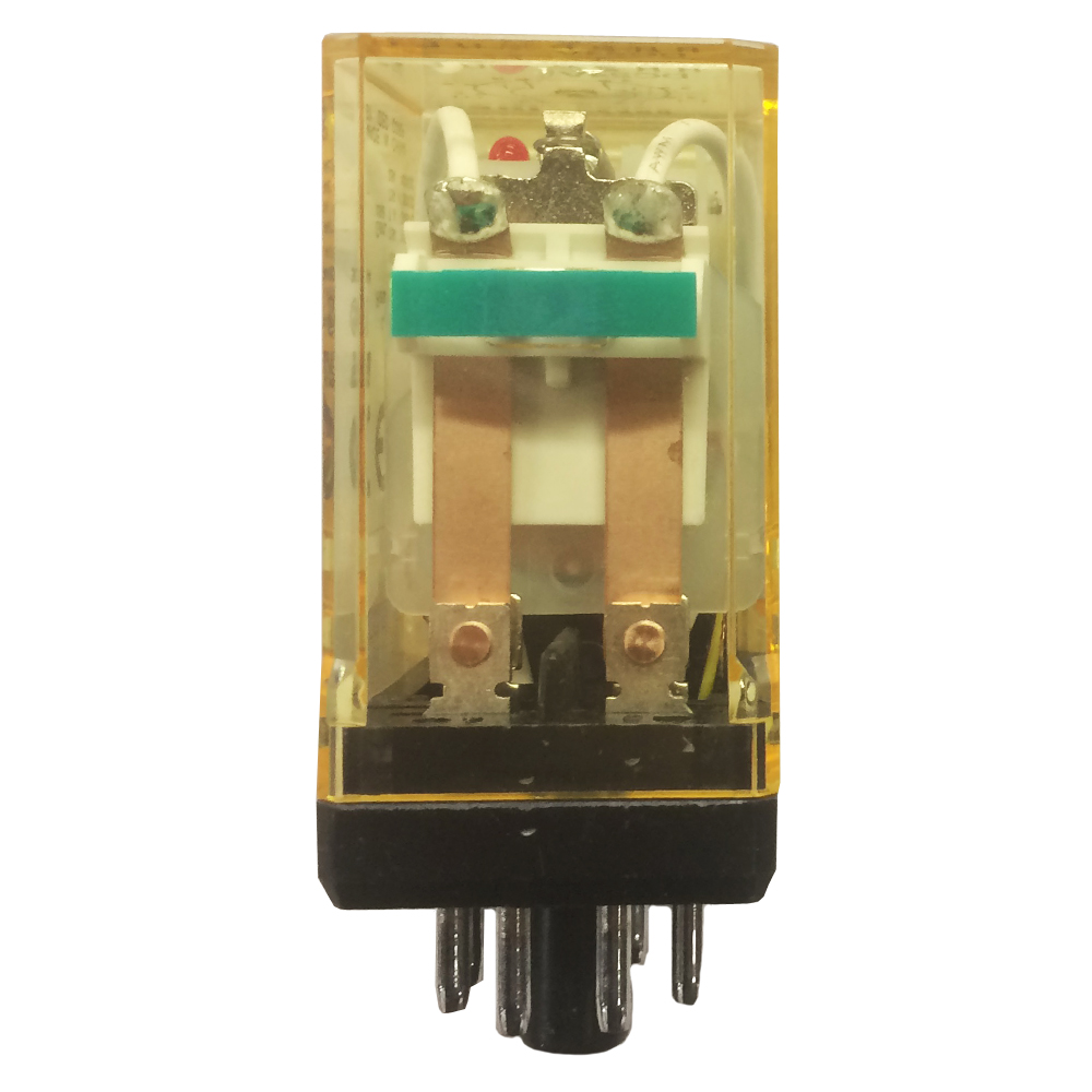 medium resolution of idec rr2p ulcdc24v dpdt double pole double throw relay plug in power 10a round 8 pin