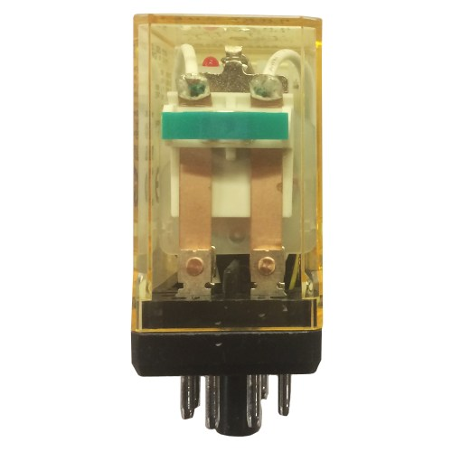 small resolution of idec rr2p ulcdc24v dpdt double pole double throw relay plug in power 10a round 8 pin