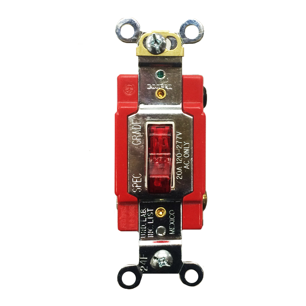 hight resolution of eaton cooper wiring devices ah1221pl 20a 120 277vac single pole industrial grade pilot ac lighted toggle switch