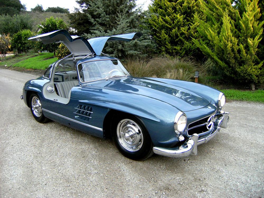 1957 Cars Restored Or Wallpapers Sold 1955 Mercedes Benz 300 Sl Gullwing Scott Grundfor