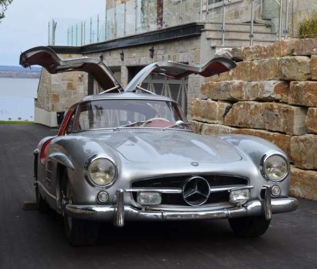 This 1956 Mercedes Benz 300sl Gullwing Is One Of The Most Sought After On Earth