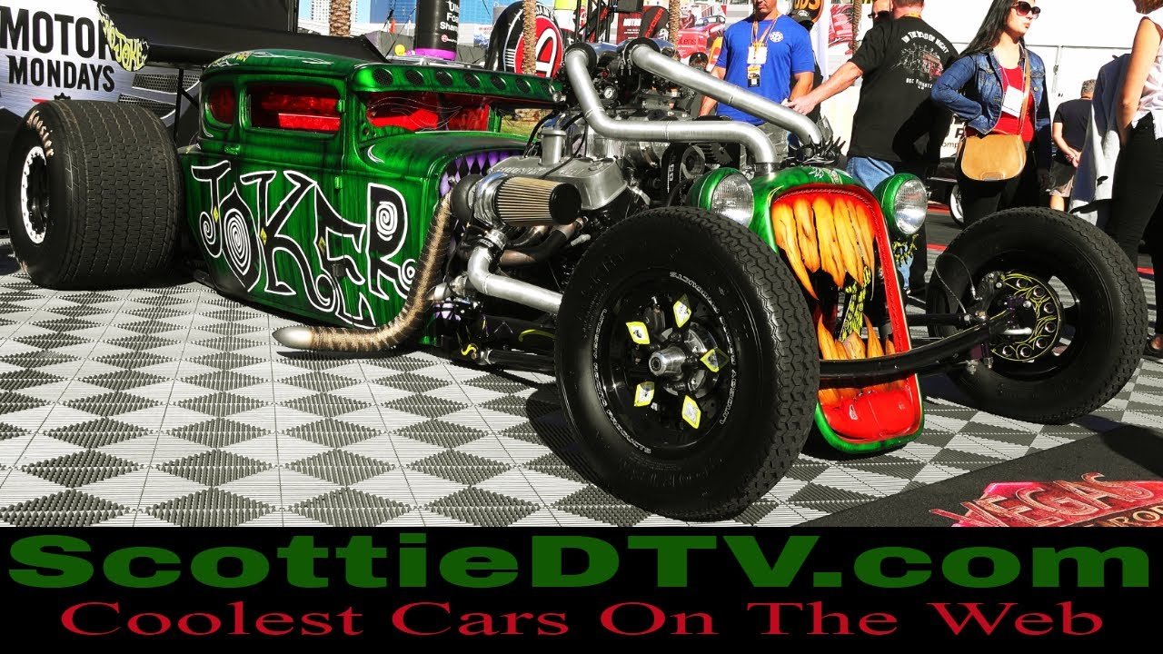 Vegas Rat Rods Joker Mobile Twin Turbo Supercharged Big