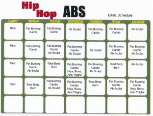 Hip Hop Abs Workout Calendar pdf