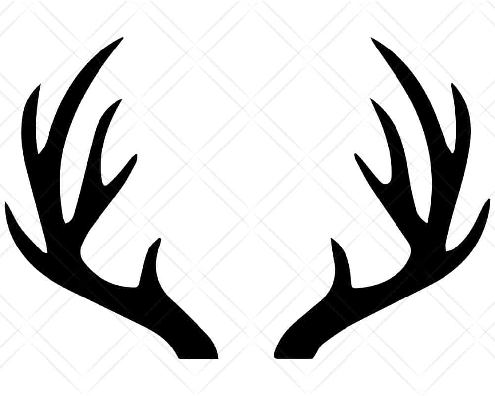 Download Deer Antlers SVG Cut Files | Scotties Designs