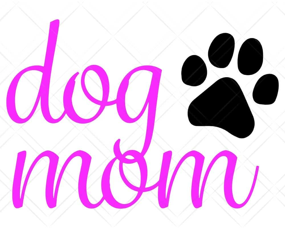 Download Dog Mom SVG Cut Files for Cricut and Silhouette | Scotties ...