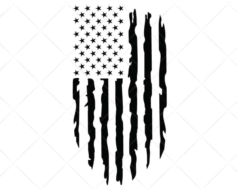 Download American Flag Distressed 5 SVG Cut Files for Cricut and ...