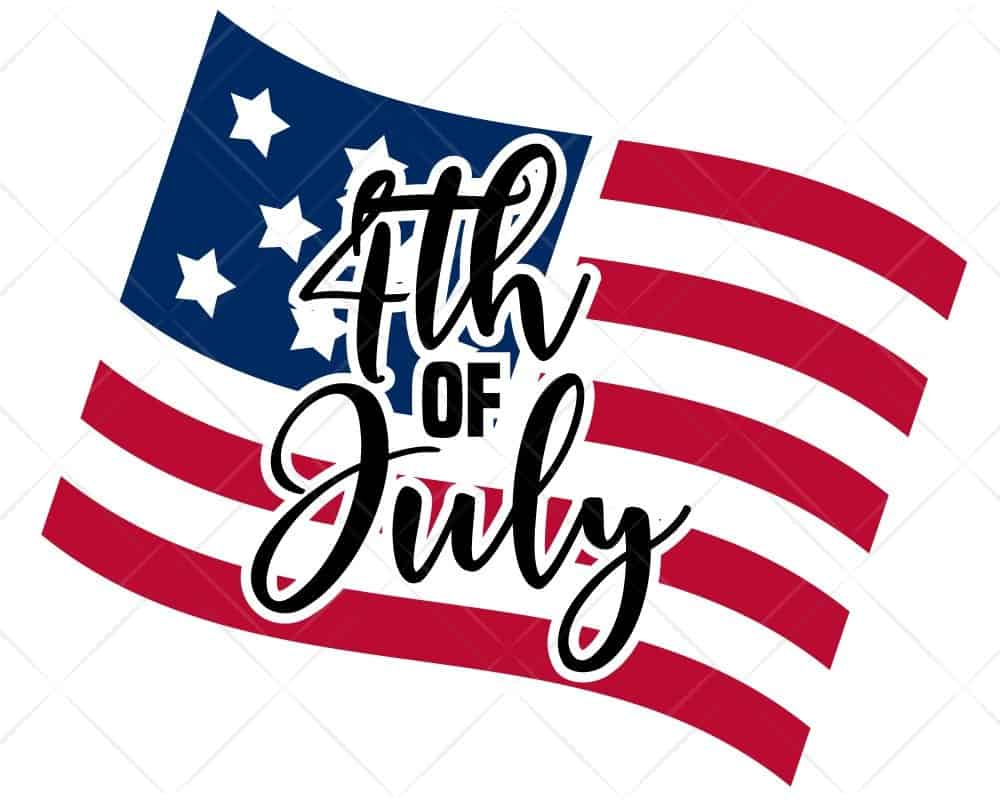 Download 4th of July Flag Words SVG Cricut Silhouette | Scotties ...