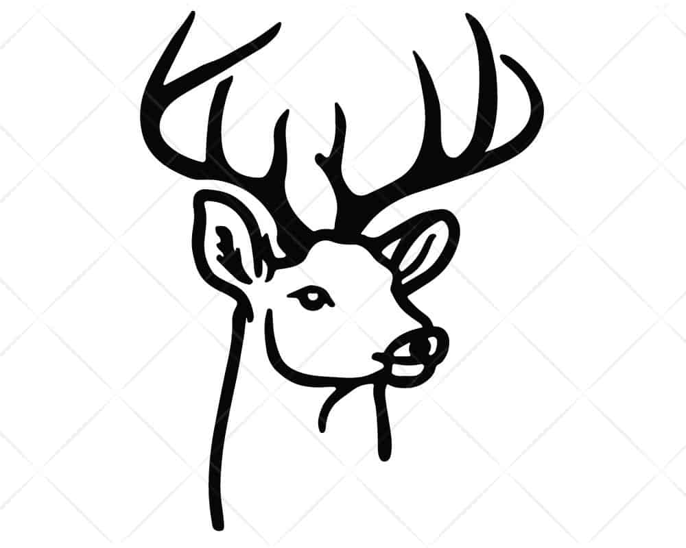 Download Hunting Deer SVG Cricut Silhouette | Scotties Designs