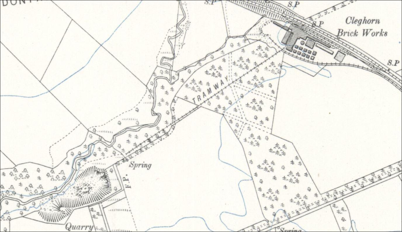 Cleghorn Terracotta Brickworks, Lanark, South Lanarkshire