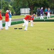 Welsh team bowling
