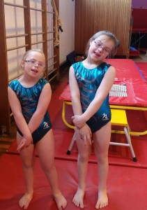 Eve and Kya, Enigma Gymnastics Club