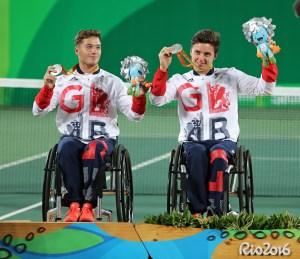 Alfie Hewett and Gordon Reid - Mens Doubles Silver