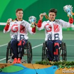 Alfie Hewett and Gordon Reid - Mens Doubles Silver
