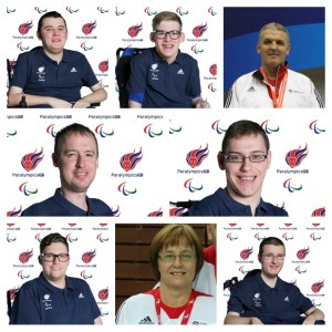 Scotland's boccia players