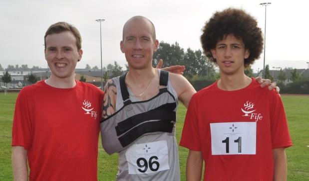 Owen Miller, Derek Rae and Sam Fernando