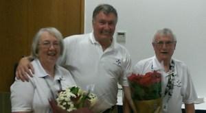 Colin and Carolyn MacDonald with Gordon McCormack