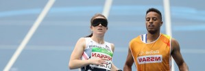 Libby Clegg and Chris Clark
