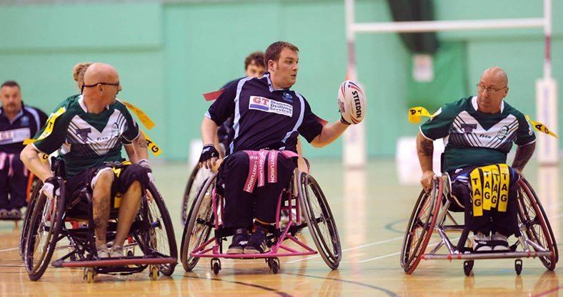 Wheelchair rugby league game
