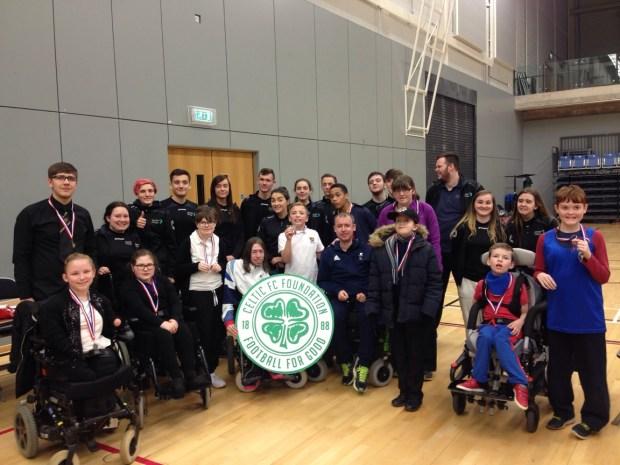 West of Scotland Schools Boccia Group Photo